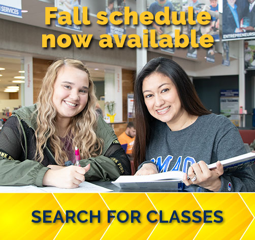 Fall Schedule now available