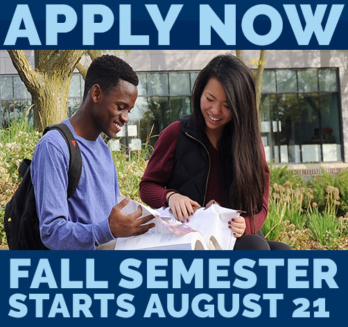 Apply now for fall semester.