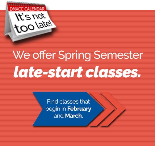 DMACC Late-start classes