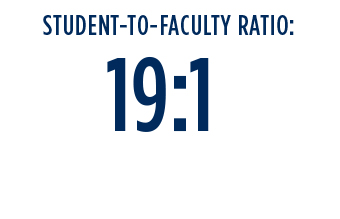 Student-to-Faculyt Ratio: 19:1