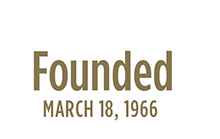 Founded March 18, 1966