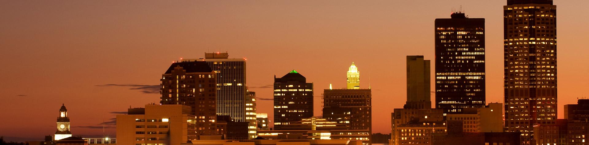 Downton Des Moines skyline