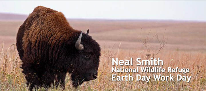 Neal Smith National Wildlife Area Earth Day Work Day