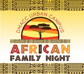 DMACC Urban Campus African Family Night