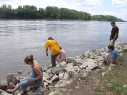 Water ecology on the Missouri River