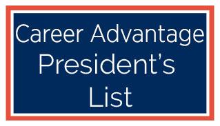 Career Advantage Spring Semester President's List