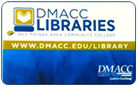 DMACC Library Card