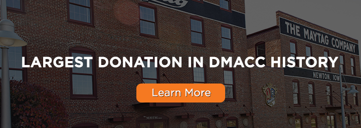 Maytag has been donated to DMACC