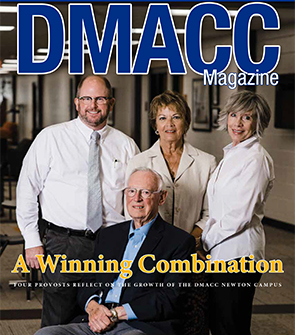 cover of DMACC Magazine publication