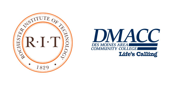 RIT and DMACC partnership