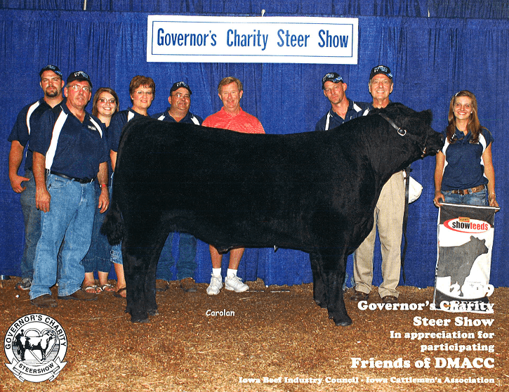 Governor's Charity Steer Show