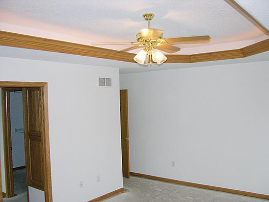 Master Bedroom Walls and Ceiling