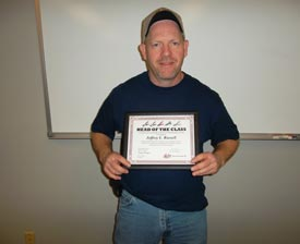 Jeff Russell, Malco Tools Head of the Class 2012 Winner
