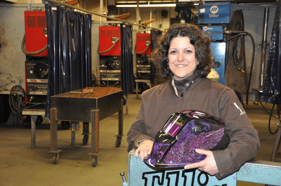 Alesa Pierce, DMACC Welding Instructor