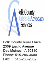 Polk County Crisis and Advocacy Services logo