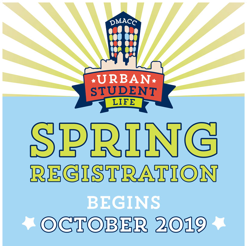 Spring Registration begins October 2019